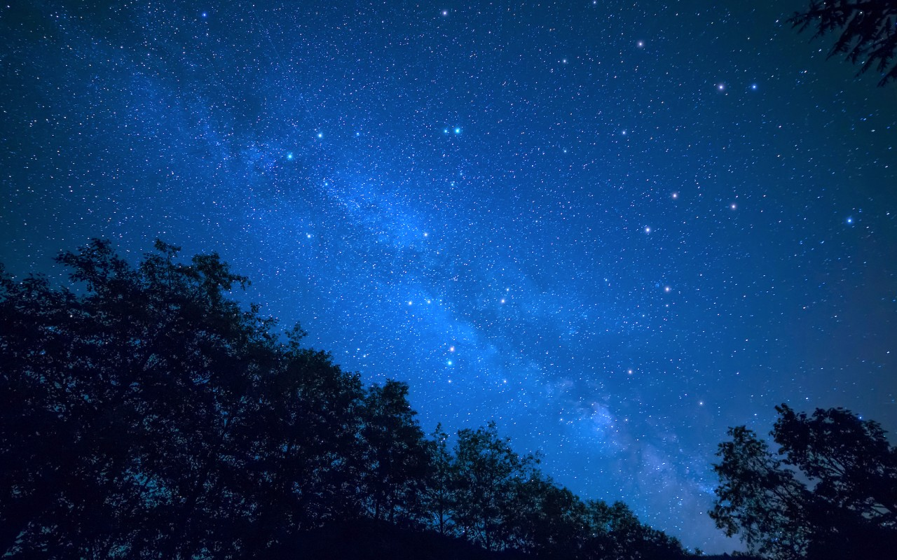 We were out camping able to see the milky way clearly but not as well as the camera could.